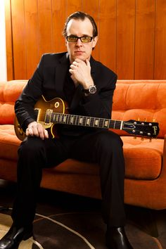 Joe Bonamassa, there is something about this cat's voice and guitar playing... Haunting