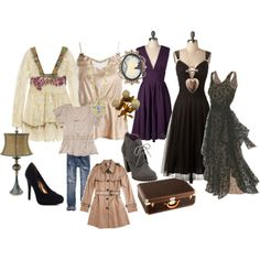 If I could hire the wardrobe mistress for  The Ghost Whisperer...