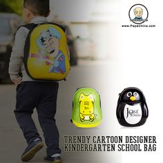 The Trendy Cartoon Designer Kindergarten School Bag is one of most easy to use product, which your customers can effectively use for various requirements that includes carrying books and stationaries and thus provides more marketing exposure to your company name which is inscribed on the product.