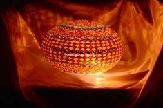 Oval mosaic lamp 30 cm - Mosaic Lamp, Mosaic Turkish Lamps, Moroccon lamp Turkish Lights, Turkish Lamps, Moroccan Lamp, Hotel Decor, Light Table, Pendant Lamp, Light Bulb, Glass Art, Mosaic
