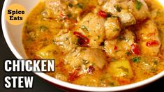 Kaldereta sa Gata with Peanut butter is a beef stewed in coconut milk, tomato sa… Easy Chicken Stew, Stew Chicken Recipe, Yummy Chicken Recipes, Healthy Recipes, Chicken Curry, Recipe Stew, Super Rapido, Healthy Comfort Food, Curry Recipes