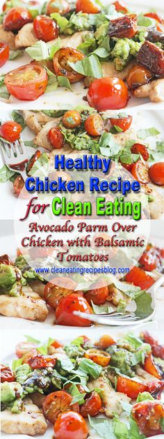 Healthy Chicken Recipe for Clean Eating | Clean Eating Diet Plan Meal Plan and Recipes