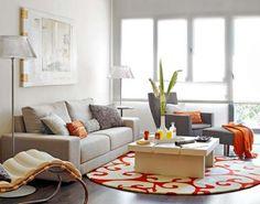 deko kissen wohnzimmer wohnzimmer grau braun elegantes wohnzimmer ...