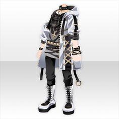 上半身/インナー A×C×Tレースアップモッズコートスタイルホワイト Manga Clothes, Drawing Anime Clothes, Model Outfits, Fashion Outfits, Pretty Outfits, Beautiful Outfits, Fashion Design Sketches, Character Outfits, Anime Outfits