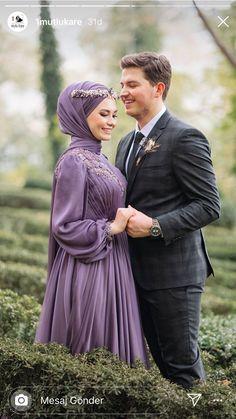 Hijab Dress Party, Hijab Style Dress, Dress Muslim Modern, Hijab Fashion Inspiration, Inspiration Tattoos, Hijab Fashion Summer, Engagement Dresses, Engagement Pictures, Moslem Fashion