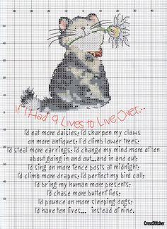 Feline Frolics (Margaret Sherry) From Cross Stitcher N°151 September 2004 3 of 4