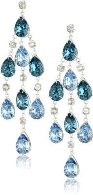 "Joanna Laura Constantine ""Aqua"" chandelier earrings"