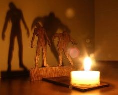 Zombie candle light, scary?