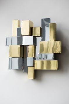 Cityscape Wall Mounted Sculpture,   Paul Evans, Cityscape Wall Mounted Sculpture, (1975)