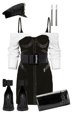 """Untitled #2212"" by styledbyjovonxo ❤ liked on Polyvore featuring Yves Saint Laurent"