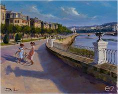 Galeria_de_arte_echeberria_pintor_ricardo_sanz_paseo_de_francia