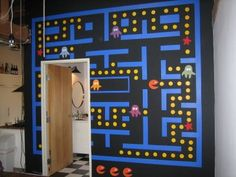Video Game Room Pacman wall decor Buying a Swimsuit: A Guide for Women of all Shapes and Sizes It is Boy Room, Kids Room, Video Game Rooms, Game Room Design, Gamer Room, Game Room Decor, Diy Games, Bathroom Wall Decor, Pac Man