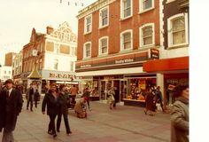 Montague street Worthing, Local History, Old Photos, Brighton, Past, 1960s, Centre, Nostalgia, England