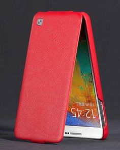 Genuine Hoco Duke Series Case Cover For Samsung Galaxy Note 3 in Red or White