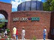 B=The Saint Louis Zoo (been) A great Zoo