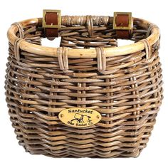 Tuckernuck Tapered Bicycle Basket » I want this for my bike!