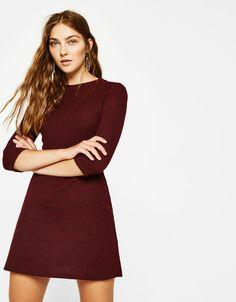 ac0d4d01bf Vestido corto línea A. Descubre ésta y muchas otras prendas en Bershka con  nuevos productos