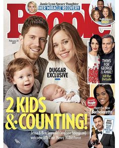 The #Seewalds might still be learning to juggle parenting their newborn son and 15-month-old toddler, but their hearts are wide open to welcoming more children in the future. Tap the link in the bio to read more about #JessaSeewald and husband Ben's plans for a very big family. | : @andrewsoutham