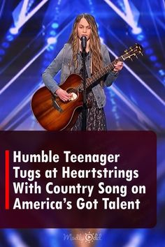 Simon Cowell has a unique eye for spotting talented teenagers. He's the mastermind behind the record-breaking band, One Direction. When Kenadi Dodds performs an original country song on AGT, Simon couldn't have been more ecstatic. #Country #AmericasGotTalent #TaylorSwift #GraceVanderWaal