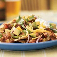 National Soyfoods Month- Recipe #26 - Vegetarian Chipotle Nachos