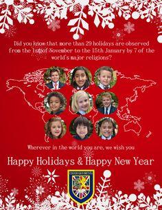 Happy Holidays from Colegio Gran Bretaña