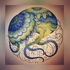 My Colouring Millie Marotta Jellyfish