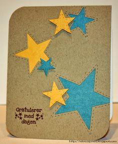 {Re}kreasjoner - Star card