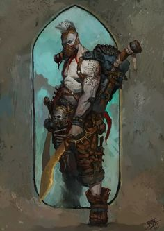 ArtStation - My art, NI Yipeng