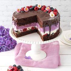 Schoko-Beeren-Torte
