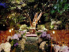 casando embaixo da árvore