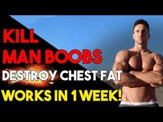 How To Lose CHEST FAT + Get Rid Of MAN BOOBS   Ripped Chest BLUEPRINT! - YouTube