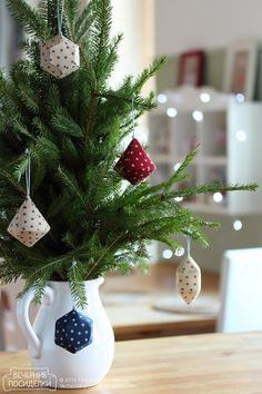 How to sew pieces of ice and icicles / Icicle Christmas ornaments tutorial