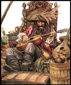 Captain Teague by ~mechaniac on deviantART ~ Jack Sparrow's father ~ POTC