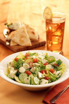 #Fresh Romaine Salad - Simple but tasty.
