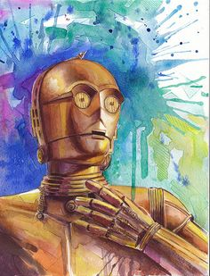 Star Wars Fine art print 8x10 by BasovaArt on Etsy