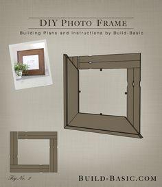 Framing options for small art work art pinterest small art build diy photo frame building plans by buildbasic build basic solutioingenieria Images