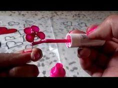 Flores de alambre y esmalte regalo ideal para mama. Flowers wire and nail polish - YouTube