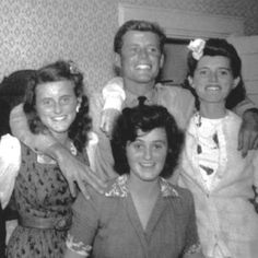 """John Fitzgerald Kennedy (May 29, 1917 – November 22, 1963) And His Sisters ..Patricia Helen """"Pat"""" Kennedy Lawford (May 6, 1924 – September 17, 2006 --Eunice Mary Kennedy Shriver, DSG (July 10, 1921 – August 11, 2009) Kathleen Agnes """"Kick"""" (Kennedy) Cavendish, Marchioness of Hartington (February 20, 1920 – May 13, 1948) http://en.wikipedia.org/wiki/Joseph_P._Kennedy,_Sr."""