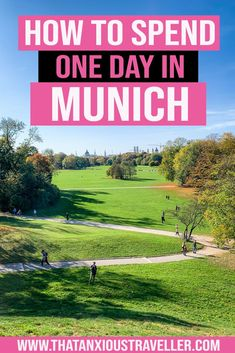 Got one day in Munich, Germany? Find out the best things to do in Munich in 24 hours with this detailed itinerary! Whether you're looking to do some photography in the English Garden, eat warm food in the Christmas Market in winter, or hit the beerhouses for Oktoberfest, Munich has it all - and you can learn how to see the highlights in a single day with this guide. Make the most of your travel to Munich! #munich #munchen #germany #oneday