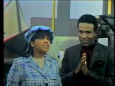 "MARVIN GAYE & TAMMI TERRELL / AIN'T NO MOUNTAIN HIGH ENOUGH (1967) -- Check out the ""The 60s: Outta Sight!!"" YouTube Playlist --> http://www.youtube.com/playlist?list=PL96B2CEE2AA67D9AA #60s #1960s"
