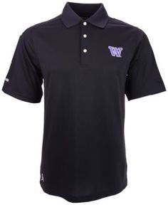 Ping Men's Washington Huskies Iron Polo Shirt - Black S