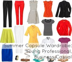 Wardrobe Oxygen: Ask Allie: Young Professional Summer Capsule Wardrobe