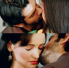 #Arnav #Khushi #Kiss #ipkknd Arnav Singh Raizada, Shrenu Parikh, Arnav And Khushi, Soap Opera Stars, Sanaya Irani, Kos, Cute Couples, Photo Editing, Bollywood