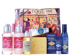 the homely place: L'Occitane illustrations