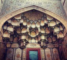 Mezquita De Jameh en Esfahan, Irán, 900 años de antigüedad