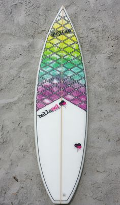 Throwback board of the day...The first Bellasol surfboard...#classick #throwback #nsb