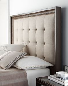DIY Tutorial: DIY Headboard / DIY Headboard   Beadu0026Cord (wood Frame To  Match Hope Chest To Put At Foot Of Bed)