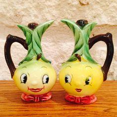 Vintage PY Norcrest Anthropomorphic Lemon Head by BobsGoodJunk