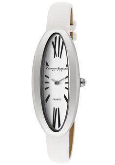 (Limited Supply) Click Image Above: Christian Bernard Women's Fairy Light White Satin Tech Watch Citizen Watch, Bulova, Seiko, Casual Watches, White Satin, Fairy Lights, Classy, Christian, Tech