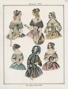 La Belle Assemblee January 1845 LAPL